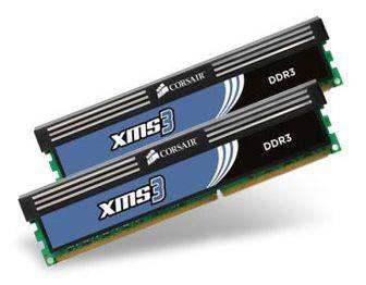 Модуль памяти DIMM DDR3 2x4Gb Corsair CMX8GX3M2B1600C9 - фото 1
