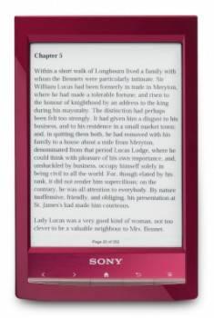 Электронная книга 6 Sony PRS-T1 красный