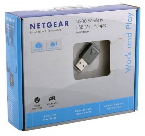 Сетевой адаптер WiFi NetGear WNA3100M-100PES - фото 3