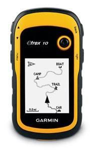 GPS-навигатор Garmin eTrex 10, Глонасс Rus (010-00970-01)