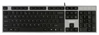 Клавиатура A4 KD-300 серый/черный