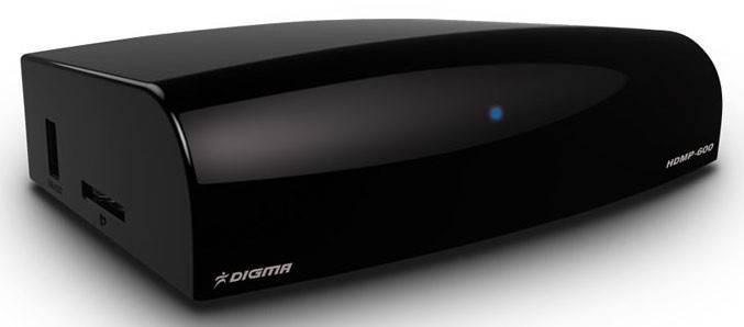 Цифровой медиаплеер Digma HDMP-600 - фото 1