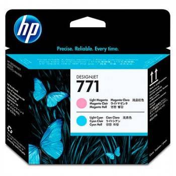 Печатающая головка HP 771 светло-голубой/светло-пурпурный (CE019A)