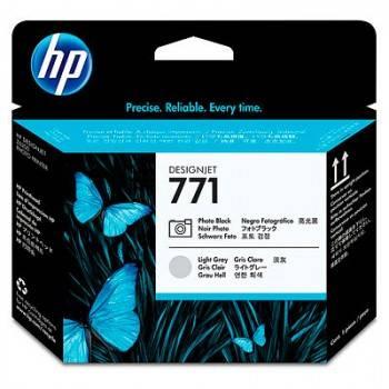 Печатающая головка HP 771 черный/серый (CE020A)