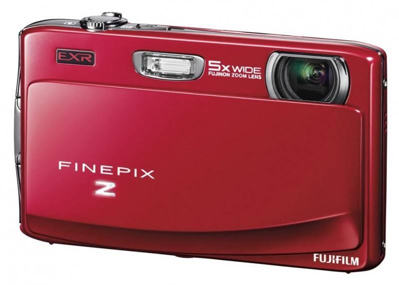 Фотоаппарат FujiFilm FinePix Z950EXR красный - фото 1