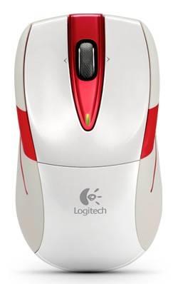 Мышь Logitech M525 белый/красный - фото 1