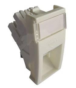 Модуль информационный Molex MLG-00028-02 UTP Mosaic RJ45 кат.5e белый (упак.:1шт)