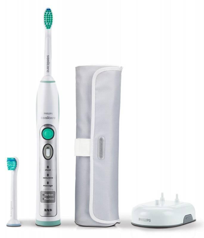 Электрическая зубная щетка Philips HX6902 белый - фото 1