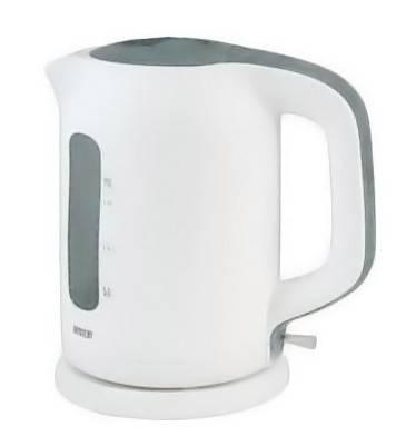 Чайник электрический Mystery MEK-1620 белый/серый - фото 1