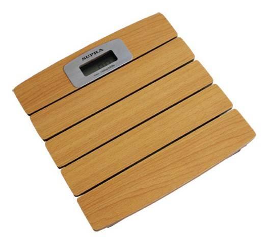 Весы напольные электронные Supra BSS-6100 коричневый - фото 1