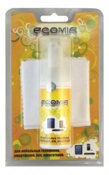 Чистящий набор (салфетки + пена) Ecomir (салфетки и пена)
