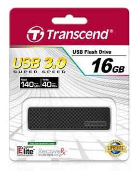 Флеш диск Transcend Jetflash 780 16ГБ USB3.0 черный/серебристый (TS16GJF780) - фото 3