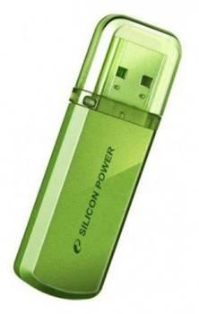 Флеш диск Silicon Power Helios 101 32ГБ USB2.0 зеленый (SP032GBUF2101V1N)
