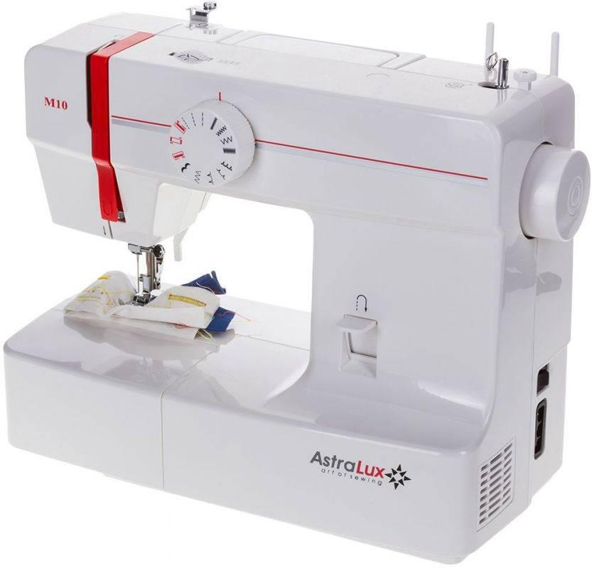 Швейная машина Astralux M10 белый - фото 2