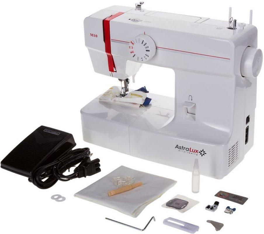 Швейная машина Astralux M10 белый - фото 5