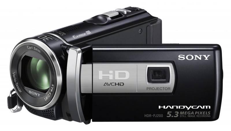 Видеокамера Sony HDR-PJ200E  Flash 1080p - фото 1