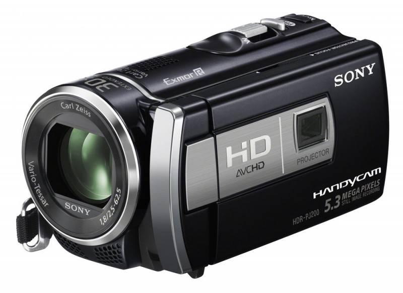 Видеокамера Sony HDR-PJ200E  Flash 1080p - фото 2