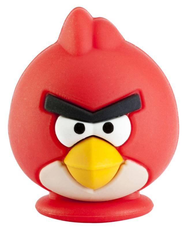 Флеш диск Emtec A100 Red Bird 4ГБ USB2.0 красный - фото 2