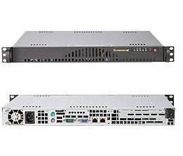 Корпус SuperMicro CSE-512L-200B 200 Вт черный (CSE-512L-200B)