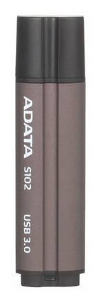 Флеш диск A-Data Superior S102 PRO 16ГБ USB3.0 серый - фото 2