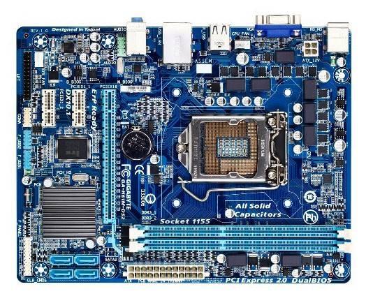 Материнская плата Soc-1155 Gigabyte GA-H61M-DS2 mATX - фото 2