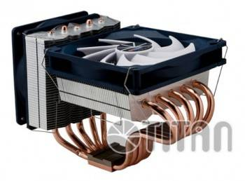 Устройство охлаждения(кулер) Titan FENRIR SIBERIA (TTC-NC55TZ(RB))