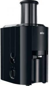 Соковыжималка центробежная Braun J 300 черный - фото 1