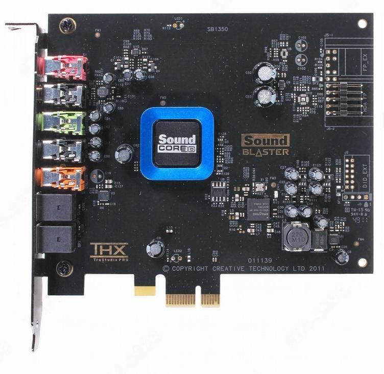 Звуковая карта Creative SB Recon3D - фото 2