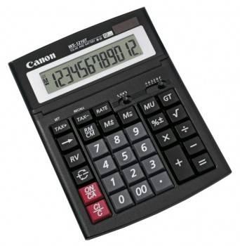 Калькулятор бухгалтерский Canon WS-1210T черный