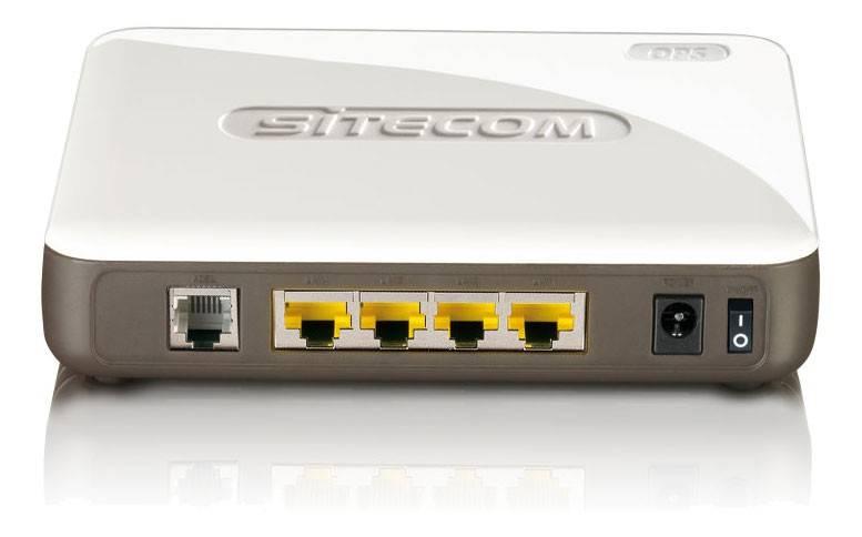 Модем xDSL Sitecom WLM-2500 RJ-45 белый - фото 1