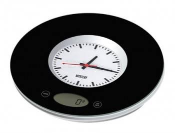Кухонные весы Mystery MES-1814 черный