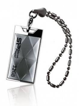 Флеш диск Silicon Power Touch 850 32ГБ USB2.0 серебристый