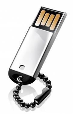 Флеш диск Silicon Power Touch 830 16ГБ USB2.0 серебристый (SP016GBUF2830V1S)