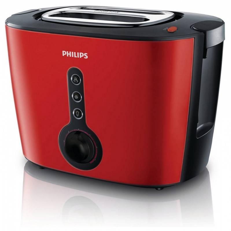 Тостер Philips HD2636/40 красный - фото 1