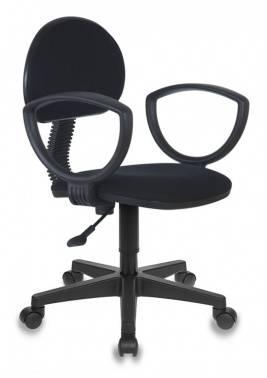 Кресло Бюрократ CH-213AXN/B, цвет обивки: черный 10-11, ткань, крестовина пластиковая