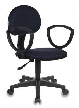 Кресло Бюрократ Ch-213AXN черный/синий (CH-213AXN/Bl&Blue)
