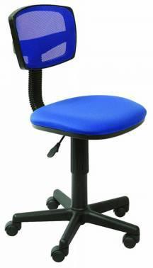 Кресло Бюрократ CH-299NX синий/темно-синий (CH-299/BL/15-10)