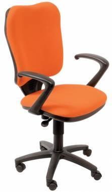 Кресло Бюрократ Ch-540AXSN оранжевый (CH-540AXSN/26291)