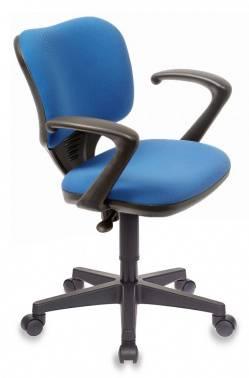 Кресло Бюрократ Ch-540AXSN-Low синий (CH-540AXSN-LOW/26-21)