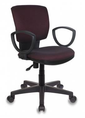 Кресло Бюрократ CH-626AXSN / V-02 темно-бордовый
