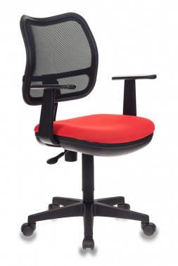 Кресло Бюрократ Ch-797AXSN черный/красный (CH-797AXSN/26-22)