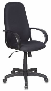 Кресло руководителя Бюрократ Ch-808AXSN черный (CH-808AXSN/#BLACK)