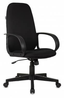 Кресло руководителя Бюрократ Ch-808AXSN черный (CH-808AXSN/TW-11)