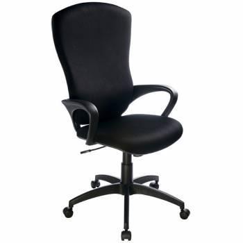 Кресло руководителя Бюрократ CH-818AXSN / 15-21 черный