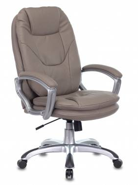 Кресло руководителя Бюрократ Ch-868AXSN серый (CH-868SAXSN/GREY)