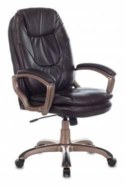 Кресло руководителя Бюрократ Ch-868AXSN темно-коричневый (CH-868YAXSN/Coffee)