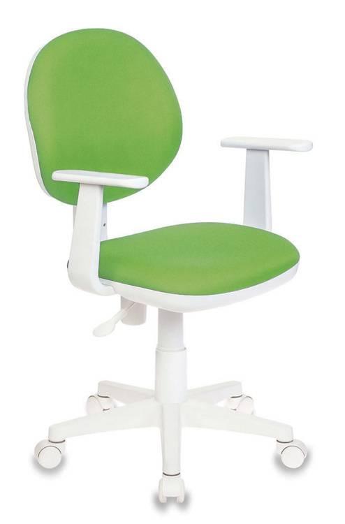 Кресло детское Бюрократ Ch-W356AXSN салатовый (CH-W356AXSN/15-118) - фото 1