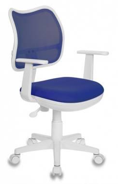 Кресло детское Бюрократ Ch-W797 синий/синий (CH-W797/BL/TW-10)