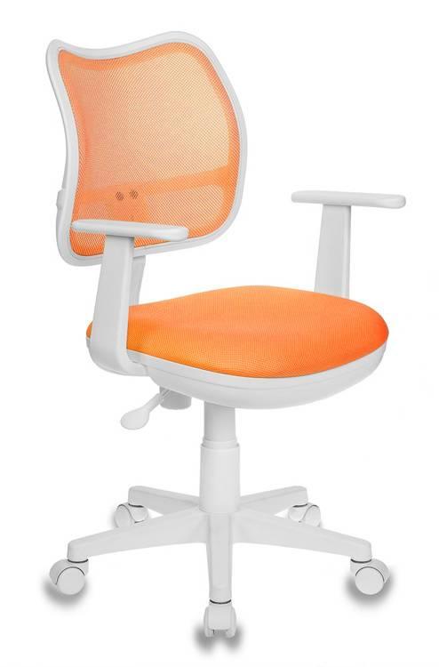 Кресло детское Бюрократ Ch-W797 оранжевый/оранжевый (CH-W797/OR/TW-96-1) - фото 1