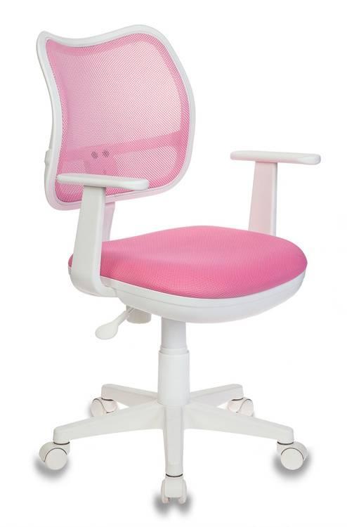 Кресло детское Бюрократ Ch-W797 розовый/розовый - фото 1